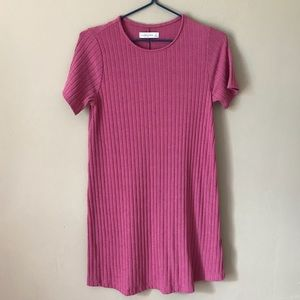 ❤️Abercrombie&Fitch Pink Jersey Skater Dress S❤️
